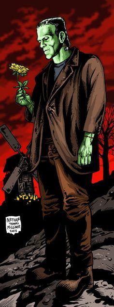 Frankenstein - By Nathan Thomas Milliner