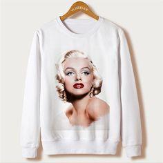 Dmart7deal Autumn Women Hoodies Frida Kahlo Print Sweatshirt Casual Full Sleeve Plus Size Hooded Sweatshirts O-neck Chandal Mujer