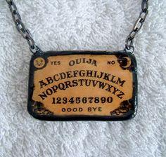 DIY Ouija Board Necklace