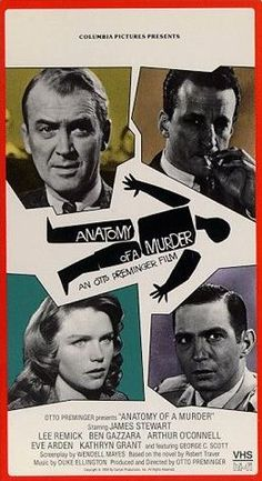 Anatomy of a Murder (1959) — Everybody was great in this movie. Everybody. Even the secondary characters were played by veteran character actors. My college boyfriend said they had to watch this movie for the courtroom scenes during his first year of law school at Ann Arbor.