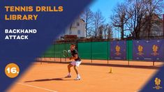 Top tennis drills: Backhand attack Tennis Videos, Drills, Basketball Court, Top, Free, Drill, Crop Shirt, Shirts