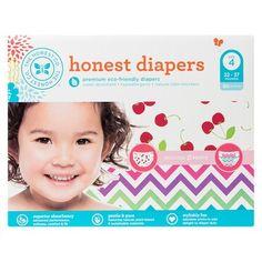 Honest Diapers Value Pack, Chevron & Cherries - Size 4 Count) Honest Co, Honest Diapers, Diaper Brands, Cool Iphone 6 Cases, Diaper Sizes, Disposable Diapers, Woodland Baby, Autumn Garden, Chevron