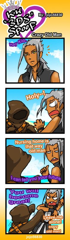 Crazy Old Man by jojo56830.deviantart.com on @DeviantArt