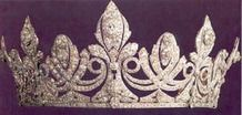 Queen Victoria Eugenie of Spain Diamond tiara