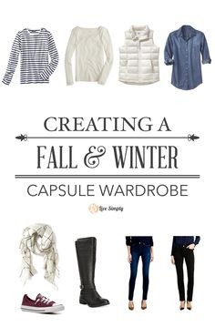 Building a Capsule Wardrobe: How to build a capsule wardrobe that works for you! Real life example of a fall and winter combined capsule wardrobe.