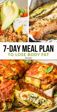 Weight Loss Diet Recipes It& not a challenge to stick to a clean diet when the food tastes THIS INCREDIBLE! Our Meal Plan to Lose Body Fat proves that! 7 Day Meal Plan, Meal Prep For The Week, Diet Recipes, Cooking Recipes, Healthy Recipes, Skinny Recipes, Weigth Watchers, Fitness Models, Eating For Weightloss