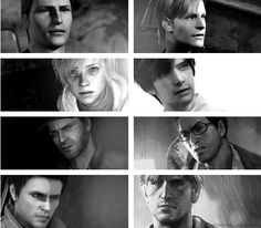 Silent hill all series characters. Harry, james, heather, henry, travis, harry, alex, murphy