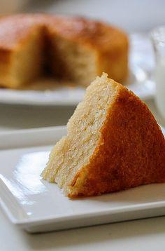 Eggless Vanilla Cake Recipe - plain thick yogurt (not too sour, at room temperature) - perfect resume for #Tarte!
