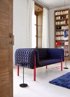 Blog da Revestir.com: Aproveite! Marca de luxo francesa  Ligne Roset aposta na maciez de sofás e tapetes!