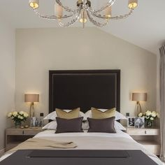 The master bedroom at our belgravia mews project from last year #bedroom…