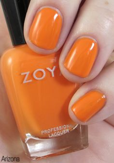 How fun is this orange from the Beach collection for Summer 2012 from Zoya?