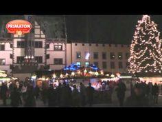 Weihnachtsmarkt 2014 in Schweinfurt ist eröffnet - YouTube