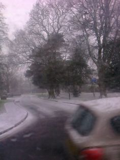 Taken as I was walking and catching to bus to Poulton one morning in January 2013