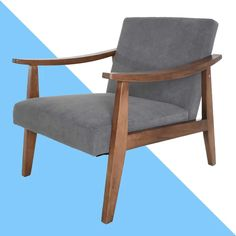 Fletcher Armchair Contemporary Armchair, Mid Century Armchair, Velvet Armchair, Barrel Chair, Modern Rustic Interiors, Mid Century Style, Club Chairs, Room Chairs, Side Chairs