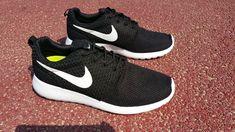 sale retailer b0868 64a89  shoes  womens  sneakers popular Roshe EmbroideryBlack White White 511881  110 Nike Roshe Run · Nike Free ...