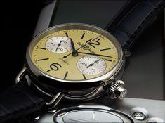 Pánské luxusní letecké hodinky Bell   Ross Chronografie Monopoussior Ivory✨  -Chronograph b3489b7359d