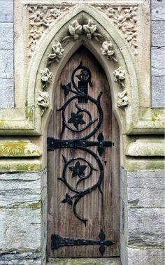 magic, doors, door, beauty