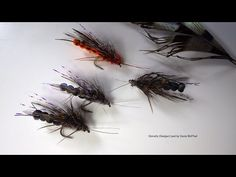 Tying a Adult Stonefly (Gadger) by Davie McPhail - YouTube