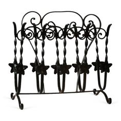 Check out this item at One Kings Lane! Iron Magazine Rack