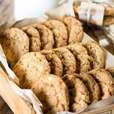 Biscuits avoine et quinoa aux brisures de chocolat—Une nouvelle façon de cuisiner un reste de quinoa cuit!