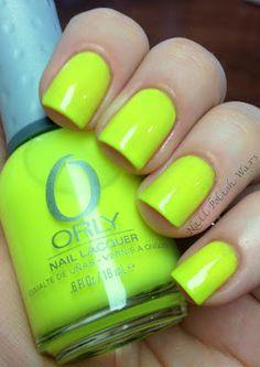 """Orly """"Glowstick"""" Nail polish!"""