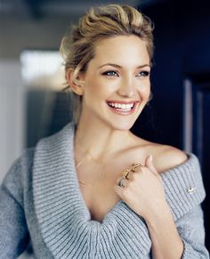 Kate Hudson Smile. #celebritysmile