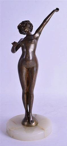 A French Art Deco Bronze Nude.