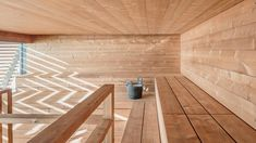 Löyly, a public sauna that has just opened in Hernesaari, is a fascinating addition to Helsinki's offering, both in terms of its architecture and various design solutions.
