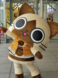 Airou mascot from Monster Hunter~