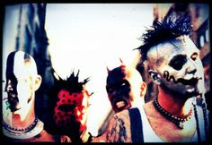 Mudvayne is an American Heavy metal band. Their work is marked by the use of sonic experimentation, innovative album art, and elaborate visual appearance, which has included face and body paint, masks and uniforms. They have sold over 6 million records worldwide, including nearly 3 million records in the United States.