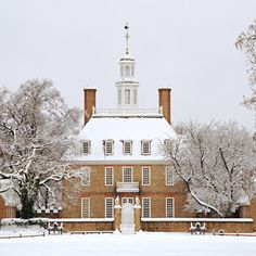This Week's Photo of the Week is the Capitol of Colonial Williamsburg. Photo from Colonial Williamsburg Originally, Virginia's seat of . Colonial Williamsburg Va, Williamsburg Christmas, Williamsburg Virginia, Virginia Is For Lovers, Colonial America, Photos Of The Week, Winter Scenes, Places To Go, Vacation