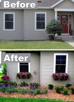 #6. Add character with window boxes! ~ 17 Impressive Curb Appeal Ideas (cheap and easy!)