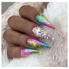 Everybody would love these nails if I went to school with them tbh