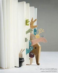animal bookmarks