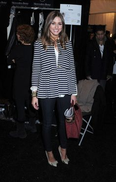 Olivia Palermo Photos  - Olivia Palermo at the Tibi Show at Fashion Week - Zimbio