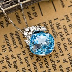 Austrian Crystal Necklaces & Pendants For Women Fashion Jewelry Brand Women's Day Charm Birthday Gift  New JS8 – lolfashion.net