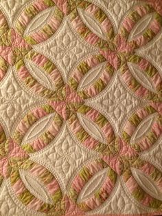 WEDDING RING QUILT PC