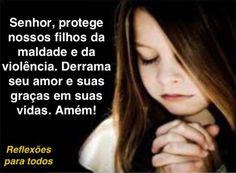"""Acesse: """"Oração para proteção dos filhos"""" e outras orações"""