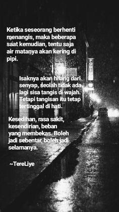Discover recipes, home ideas, style inspiration and other ideas to try. Quotes Rindu, Rain Quotes, Quotes Lucu, Quotes Galau, Hurt Quotes, Tumblr Quotes, Mood Quotes, Qoutes, November Quotes