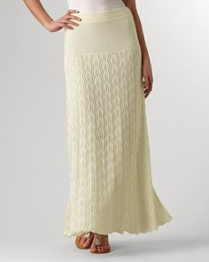 Romantic crochet maxi----  Purchased this skirt and it is beautiful  and wonderful