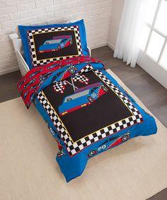 Racecar Bedding Set #zulily #zulilyfinds