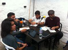 Ángel, Josué, Noé y Misael  Interruptus Radio Segunda Temporada, Programa 1. Materia Enseñanza de la Historia. FFyL UNAM