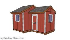 12x8 8x8 shed plans #DIYShed8x8