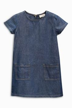 6907b271e5 Buy Denim Shift Dress from the Next UK online shop