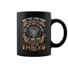 EMBLER Brave Heart Name Mugs #Embler