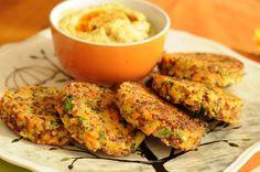 Croquetas de Quinoa y Zanahoria…