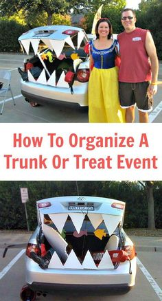 How To Organize a Trunk or Treat Event Trunk or Treat? Of course, you have heard of trick or treat or trick-or-treating for Halloween, but have you ever attended or been part of a Trunk or Treat event? Fashion Kids, Fashion Art, Holidays Halloween, Halloween Treats, Halloween Party, Halloween Games, Halloween 2020, Halloween Stuff, Halloween Costumes