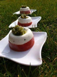 Tomate mozarella revisité - Amitié en cuisine !