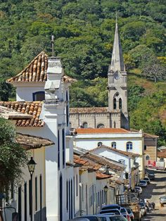 UNESCO World Heritage Site.                             Historical center of the city of Goiás, BRAZIL   (by Marcello Dantas)