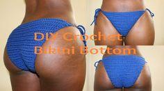 DIY | How To Make A Crochet Bikini Bottom